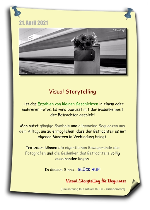 visual storytelling, bilder erzählen geschichten, fotografie und weiterleitung